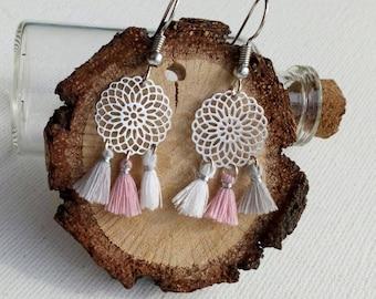 Bohemian Earrings with tassels