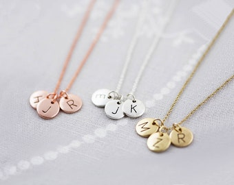 Personalized Gift for women Personalized Initial Necklace Letter Necklace for women gift for her