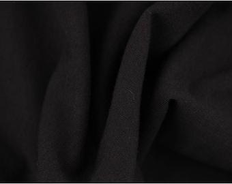 Dark grey cotton jersey fabric