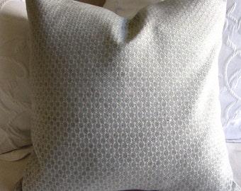 Chenille decorative Pillow Cover 18x18 20x20 22x22 24x24 26x26 patina blue
