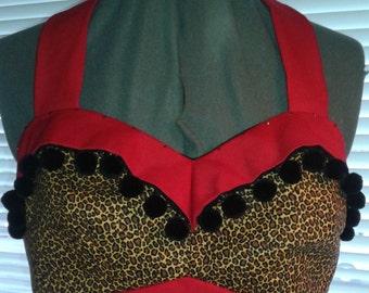 Custom designed sweetheart top