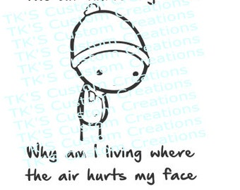 Why am I living where the air hurts?