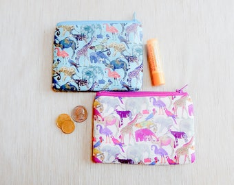 Teacher Gift/ Gift for Girls/ Gift for Her/ Gift for Women/ Mothers Day Gift/ Make up Bag/ Coin Purse/ Zipper Pouch/ Birthday Gift/ Mom Gift