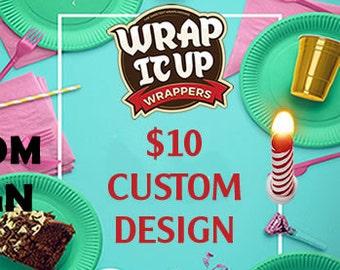Custom Design Fee. Add this to your cart for a custom design.