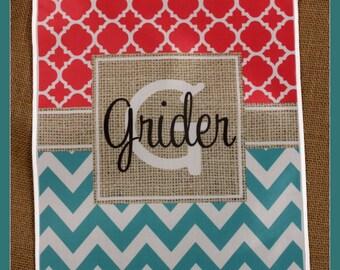Personalized Garden Flag Monogrammed Outdoor Garden Flag Monogram Garden Gift Gifts for Mom Housewarming Gift Custom Hostess Gift