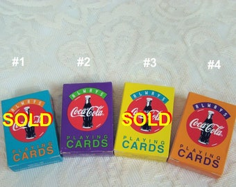 Mini Coca Cola Playing Cards