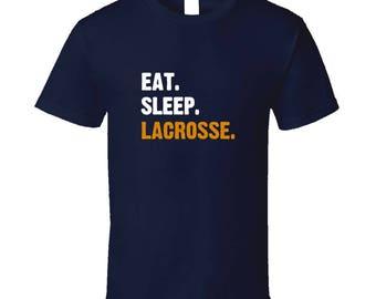 Eat, Sleep, Lacrosse T Shirt Lacrosse Shirt Funny Lacrosse Shirts LacrosseHeads