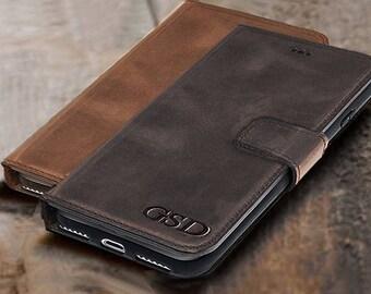 tech gift men iPhone 7 case Leather, iPhone 7 plus case, gift, iPhone 6 case, iPhone 6 plus case, iPhone SE case, iPhone 7 plus wallet case