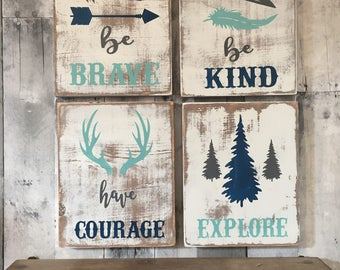 rustic nursery, woodland nursery decor, rustic nursery decor, woodland nursery, rustic nursery sign