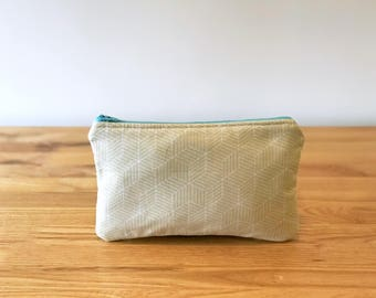 Makeup Bag - Cosmetic Bag - Toiletry Bag - Pencil Case - Make Up Bag - Pencil Pouch - Makeup Case - Makeup Pouch - Zipper Pouch - Travel Bag