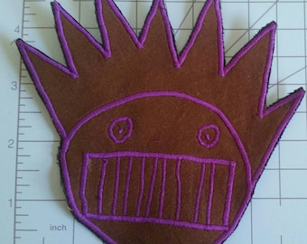 Brown Boognish Patch