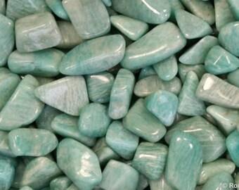 Amazonite Tumbled & Rough - Reiki, Healing, Gemstone, Crystal