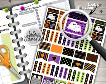 60%OFF - Halloween Stickers, Printable Stickers, Planner Stickers, Kawaii Stickers, Cute Stickers, Planner Accessories, Printable Planner