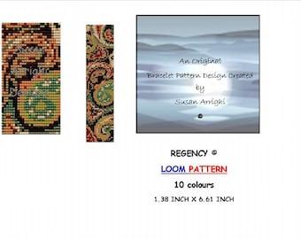 REGENCY -          LOOM Bracelet Pattern