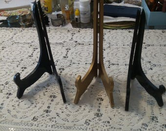 3 Different Size Wood Stands Sold Seperately,