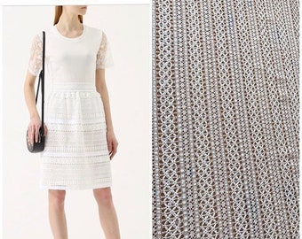 Burberry lace/French lace tulle/ cotton lace chantily/white lace/white cotton tulle