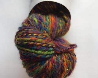 Hand Spun Merino - Multicolour 99g