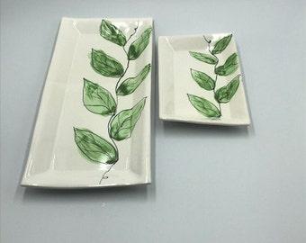 Serving Platter, Handmade, Pottery, Tray, Ceramic,