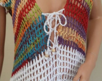 Unique crochet Sumer cover up