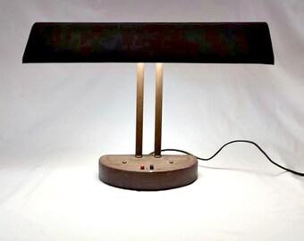 Desk Lamp Vintage Industrial Steampunk Metal Office Decor