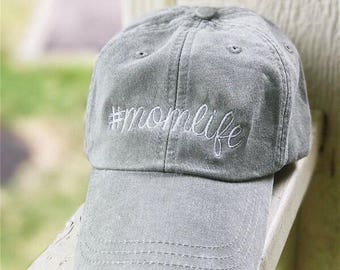 Mom Life Ball Cap | Mom Life Hat | Mom Hat | Mothers Day Gift