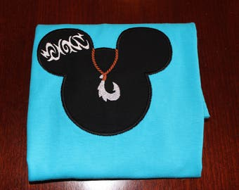 Hawaii Mouse Prince Shirt for Infant, Toddler, Youth, and Adult