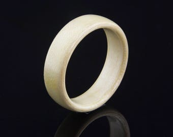 Bentwood Ring  Handcrafted In Maple Wood