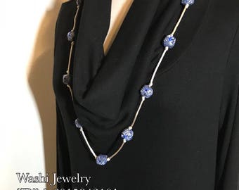 Washi Jewelry Necklace (Design right )