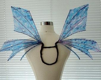 Fee Flügel-lila Flare-schillernde-Erwachsene und Kinder (Massanfertigung)