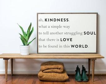 Kindness WHITE (3x2)