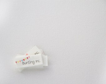 132 - 1.3cm x 3.3cm - sew in fabric labels - Your logo / text