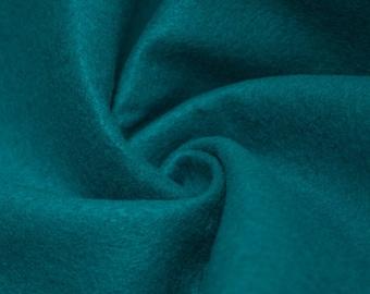 """Abby DARK TURQUOISE 72"""" Acrylic Felt Fabric by the Yard - 10030"""