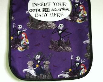 Nightmare Before Christmas Baby Bib