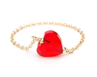 Ring heart partnership Leopoldine Chateau x YAY!
