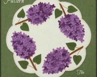 SALE!! Bloomin' Lilacs Pattern by The Woolen Penny