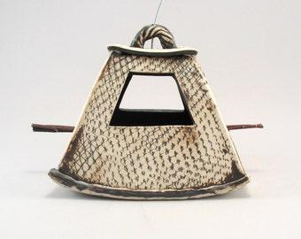 Bird Feeder-Ceramic Bird Feeder-Garden Decor-Pottery Bird Feeder-Ready to Ship
