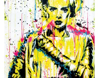 Bride of Frankenstein - 12 x 18 High Quality Art Print