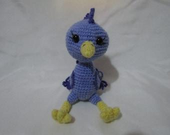 Amigurumi Feathered Bird Plush
