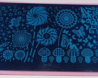 XL Nail Stamping Plate CLEARANCE
