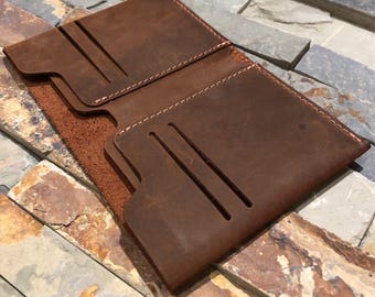 Wallet•Leather Wallet•Mens Leather Wallet Slim•Distressed Leather Wallet•Minimalist Wallet•Personalized Bifold Wallet•Father's Day