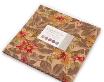 Garden House by Jan Patek Quilts for Moda Fabrics.  Layer Cake 2170LC
