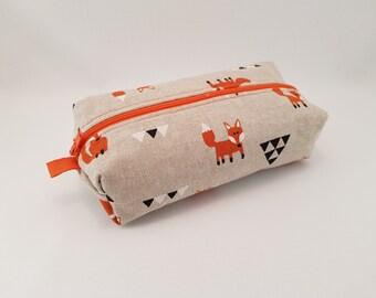 fox pencil case