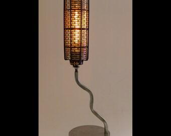 Industrial 'Java' Handmade Steampunk Table Lamp Modern Design Machine Cosplay Edison Bulb Made in USA