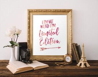 Printable art, Teen girl room decor, Inspirational quotes, Dorm room decor, Teen girl wall art, Typography poster, Home decor BD-716