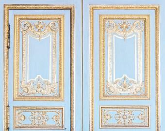Versailles Print, Versailles Photograph, Gold Print, Versailles Paris Print, Statement Art, Paris Wall Decor, Unique Gift, Wedding Gift