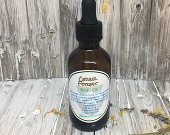 Cedar Forest Beard Oil - Beard Oil, Beard Oil and Balm, Beard Oil Balm, Gifts For Him, Beard Conditioner Products, Beard Grooming and Care