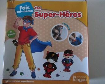 kit fais toi-même tes super héros - couture - A partir de 14 ans et plus