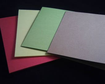 20 - A2 Notecards and Envelopes, Blank Card for Card Making, Paper Crafting Supplies, 100lb card stock