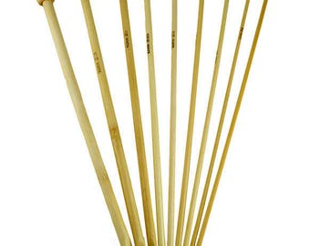 Bamboo 6 length 30cms Tunisian crochet