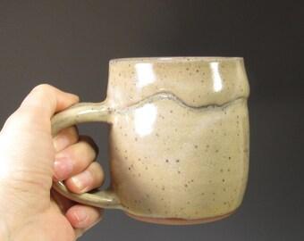 Pottery Mug - Coffee Mug - Tea mug - Ceramic Coffee Cup - Ceramic Mug - Handmade Pottery Mug - Earthy Rustic Mug - Morning Coffee Mug